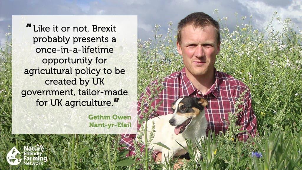 Farmer Gethin Owen quote