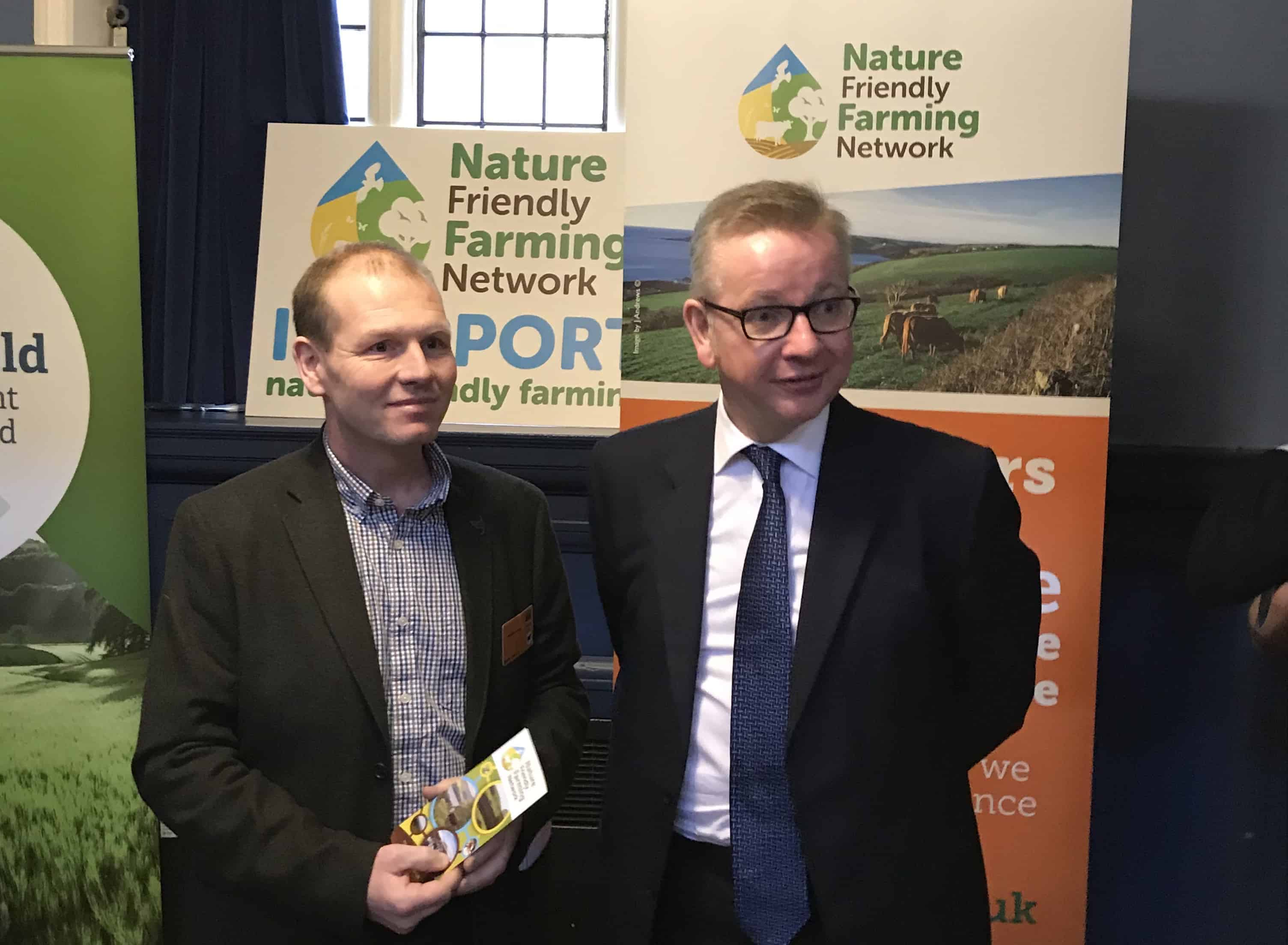 Michael Gove meets NFFN chair Martin Lines