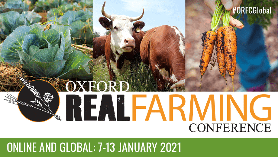 Oxford Real Farming Conference card