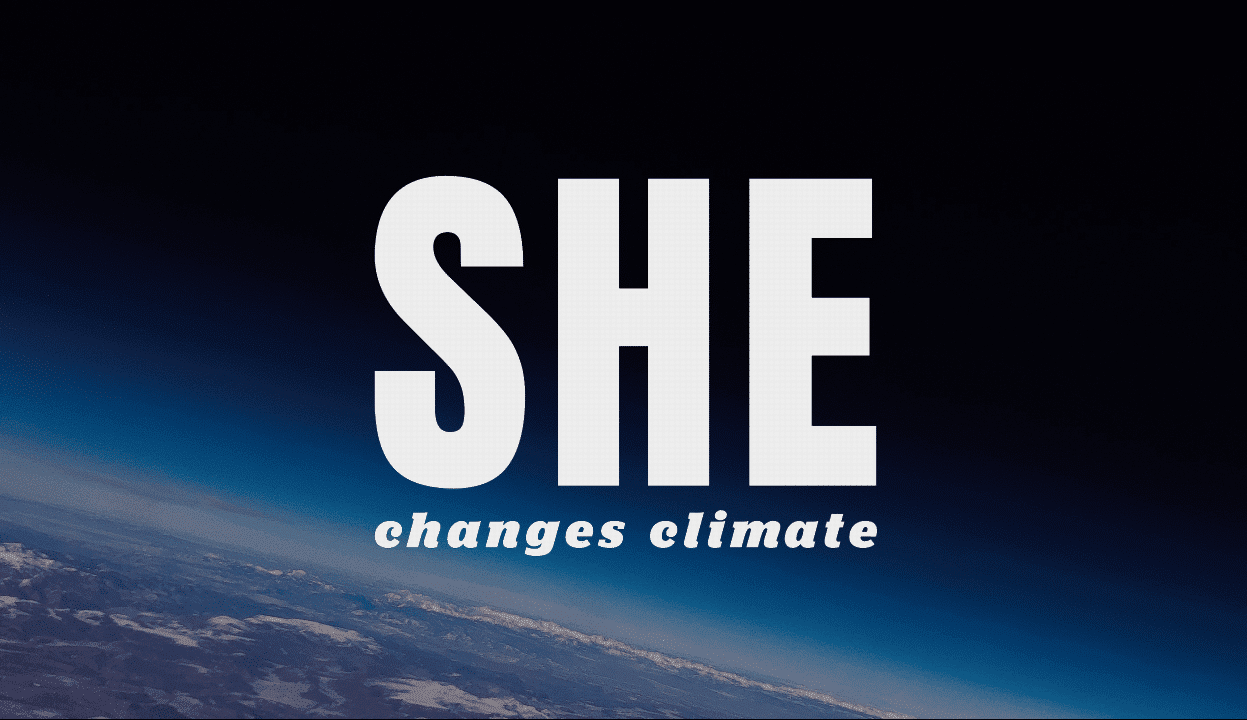 SHE changes climate change